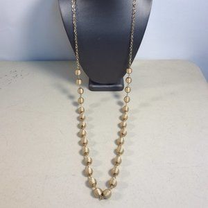 New NATASHA Corded Bead Long Classic Necklace #194